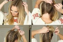 Frisuren für die Tochter