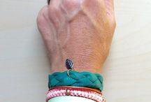 Bracelets made by me