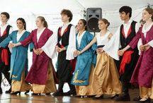 Hellenic folk dancing