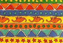 Dinosaur Stripes