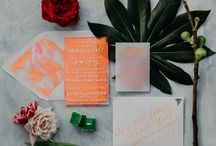 Summer Neon Styled Shoot / Bright neon & modern designs for out-of-the-box wedding inspiration. Featured on Green Wedding Shoes!