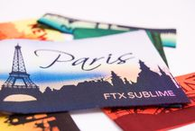 Sublime Labels / No color boundaries!   Sublime™ Woven Labels are the newest and most innovative products of our woven label offering. They combine the elegance of woven labels with colorful printing achieved by heat.