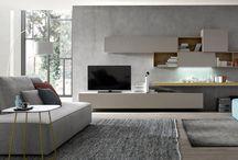 Nábytek do obývacího pokoje ORME a Orme light / Moderní nábytek od Italského výrobce HOMES - ORME