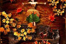 The Richness of Earthy Spices / Warm spicy toned scrapbooking kits and the art to match! All kits available from MischiefCircus.com