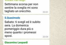 chat tra persone ''famose''