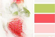 Colour swatches - frozen