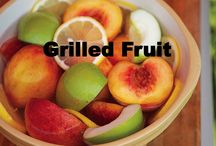 Grilled Fruit / Grilling is not just about meat. Grilled fruit is becoming more and more popular. Grilling brings out the sweetness and can give it an entirely new taste altogether.