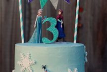 frozen cakes ideas