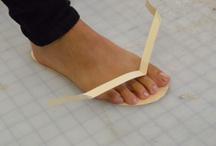 bőr lábbeli kézzel készìtve