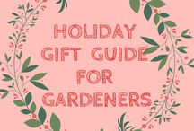 Gardeners Gift Guide / Don't know what to get your gardening lover friend this holiday season? Use this guide to help you pick out the perfect gift. Remember, they'll remember you when they have an abundance of vegetables and herbs this coming summer. Great gifts for the great gardener in your life.