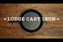 Cast Iron Cookin' / Cooking with my new Cast Iron Skillet!