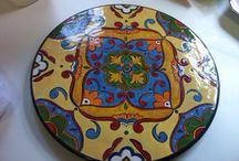 DIY / Peças que pinto em cerâmica.