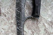 white weapon