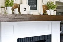 Mantel / How to decorate