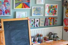 Craft Rooms / Beautiful, inspiring, practical, clever craft and art spaces