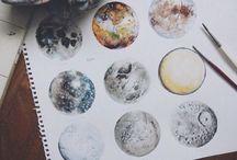 Galaxy illustrations