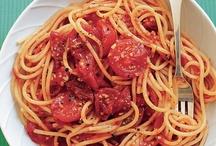 Pasta (Main Dish) Recipes / by Jill Parks McDaniel