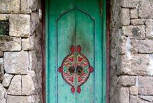 Doors from Bali