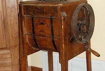Old butter churn @ coffer grinder / by Kathy Murphy