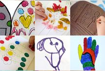 Artistic endeavors / Art for the kids, homeschool and myself
