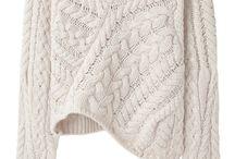 Dzianina / knitting, knit fabric / dzianina robiona na drutach i maszynowo