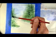 Watercolour Tutorials and Cards