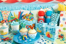 Pool Party Ideas / Perfect for summer! Brittany Schweigert from GreyGrey Designs designed this pool party perfect for fun in the sun! / by Birthday Express