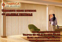 Umbrire interioara / Afla toate informațiile de care ai nevoie despre diferite metode de decorare a ferestrelor si umbrire interioara.