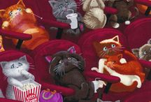 Felines in Films / by Donna Duncan