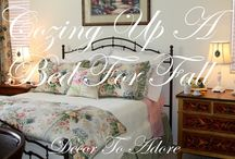 Beds / How to dress a pretty bed