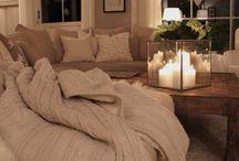 inrichting woonkamer warm