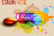 Happy Diwali / n the auspicious occasion of this Diwali Light up new dreams, fresh hopes, undiscovered avenues, different perspectives, everything bright & beautiful and fill your days with pleasant surprises and moments.   Staunchire wishes you a very HAPPY & PROSPEROUS Diwali.