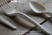Posate / Cutlery: biodegradable & compostable cutlery