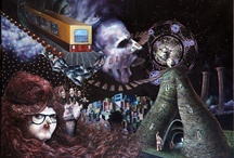 George Karakasoglou Art / pop surrealism, art, painting, drawing, Γιώργος Καρακάσογλου