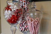 Christmas decor ideas / Ideas for decorating for christmas
