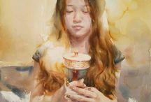 aquarelle :: Liu Xide