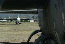 Boneyard AMARG Arizona / Vliegtuigen in de Mojave woestijn. De US Airforce bewaart en sloopt toestellen die tijdelijk of permanent overbodig zijn. #aircraft #boneyard #airforce #amarg