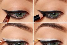 Eye makeup trendy