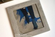 CONCRETE FRAME ART on Etsy