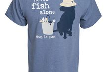 Never Fish Alone / by Dog is Good