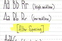 Handwritten Lettering