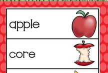 Kindergarten Apples / Apple themed activities and crafts for primary students.