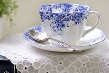 Tea Cups, Tea Time ✿~ Colette's Cottage / Tea cups, tea cups, can't have enough pretty tea cups!!! See my other boards for lots more tea time fun! ✿~ Colette's Cottage
