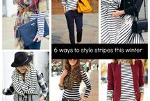 6 Ways to Style Stripes This Winter
