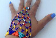 Beaded jewellry
