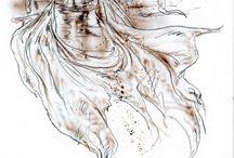 Luis Royo Zeichnungen