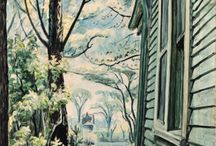 Charles Burchfield / Paintings by the artist