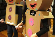 Halloween Costume Ideas / Cardboard costume ideas – a great way to reuse your left-over parcel boxes