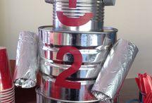 Robots boîtes en fer
