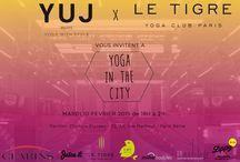 YUJ X Pavillon - Yoga in the City / Yoga in the City au Pavillon Champs Elysées - 10 février 2015